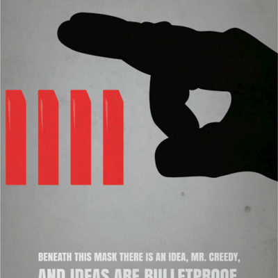 V for Vendetta Minimalistic Poster
