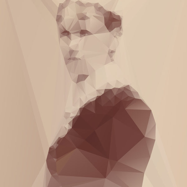 Lost Polygonal Portraits Art Lost Polygonal Portraits Art