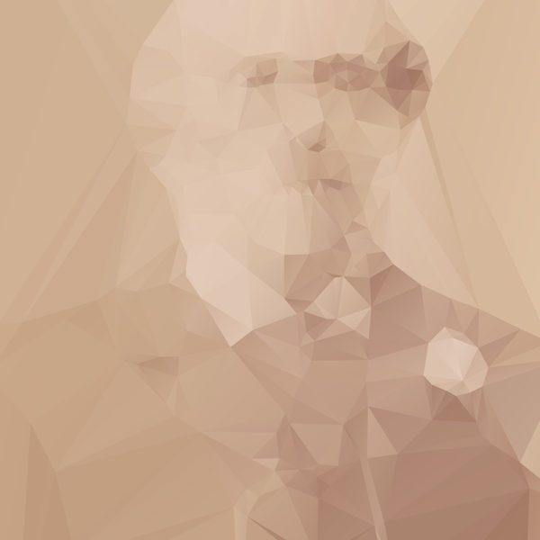 Lost Polygonal Portraits Art 5