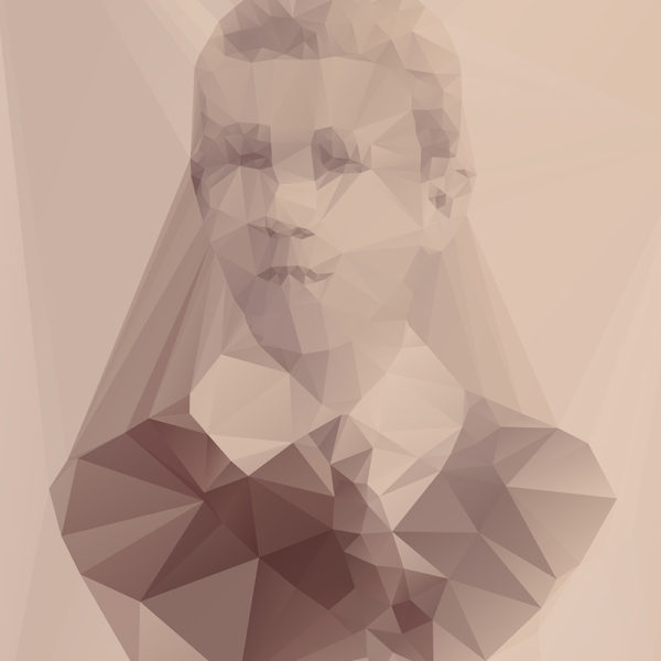 Lost Polygonal Portraits Art