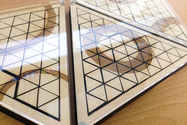 Geometric Wooden Puzzle