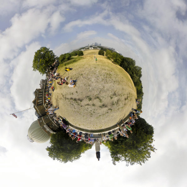 Tiny Planets - Greenwich