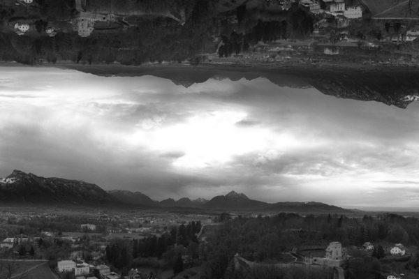 Upside Landscape - Austria