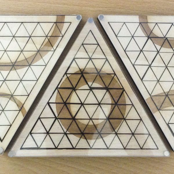 Geometric Triangle Puzzle