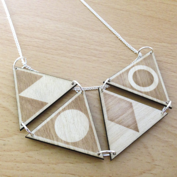 Geometric Jewellery - Necklace