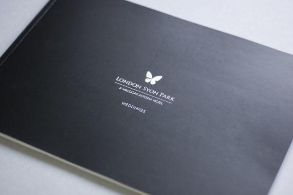 Wedding Brochure Design - Syon Park