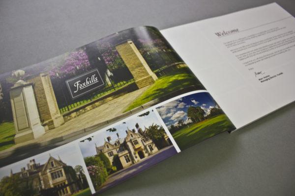 Wedding Brochure Design - Foxhills