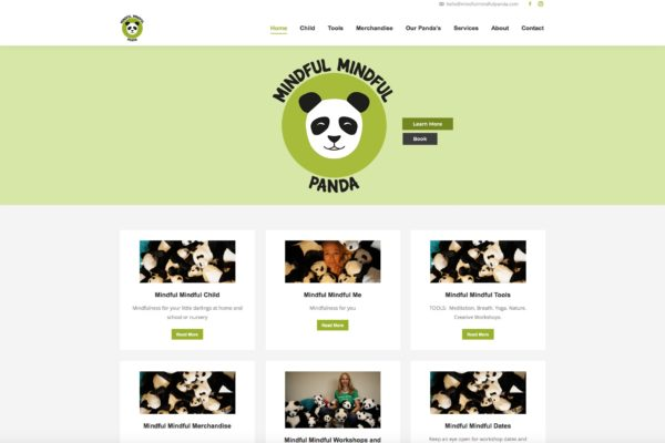 Mindful Mindful Panda Website